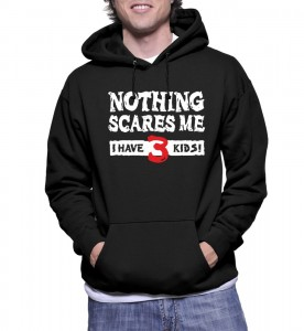Bluza NOTHING SCARES ME