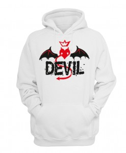 BLUZA z kapturem DEVIL