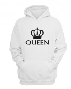 BLUZA z kapturem QUEEN