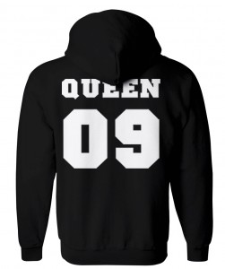 BLUZA z kapturem QUEEN09